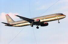 CIVIL AIRCRAFT PHOTO ROYAL JORDANIAN PHOTOGRAPH PLANE PICTURE JY-AYT AIRBUS A320