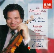 The American Album: Bernstein - Serenade / Barber: Violin Concerto / Foss: Three