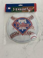 Brax - One New Philadelphia Phillies 3-D Magnets - Ultradepth - Locker Sized