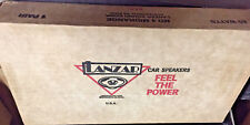 Lanzar MD4 Midrange Speakers BRAND NEW! Old School NEW OLD STOCK! RARE VINTAGE!