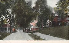 c.1908 Homes Park St. Brewster NY post card Putnam County