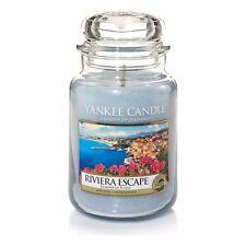 Yankee Candle Reviera Escape Jar 623g Großes Glas Housewarmer Duftkerze