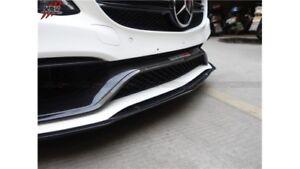 M-Benz W205/C205/C63S Euro-Spec Style Carbon Fibre Front Bumper Trim Replacement