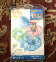 """New Old Stock Sealed Intex The Wet Set Pink Inflatable Tube Ring Pool Float 36"""""""