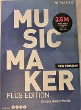 MAGIX Music Maker Plus Edition, Software, Musikprogramm, CD, Windos 8 und Windo