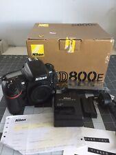 NIKON D800E Full Frame DSLR Body Only Low Shutter Count 768736.3 Mega Pixel