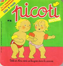 PICOTI  N° 56 revue des Bébés  dès 9 mois Milan Petit panda pot vélo piscine
