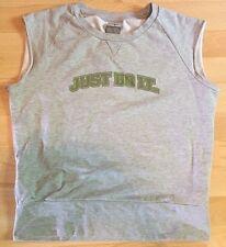 NIKE - Débardeur sweat t-shirt gris coton sport - Taille 44/46