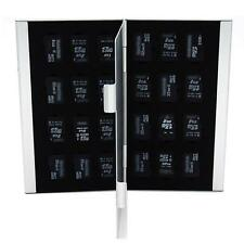 24 in 1 Portable Aluminum micro SD Memory Card TF Case Storage Card Holder HQ.