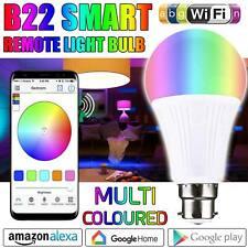 WiFi B22 LED Smart Bulb App Remote Control for Alexa Google Home Amazon Xmas