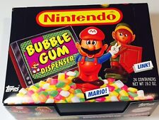 mario bros and link zelda nes vintage candy licensed topps new mint