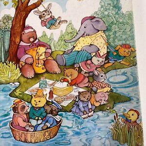 Springbok Animal Antics Children's 100 Pieces Puzzle Complete