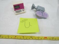Barbie & Other Miscellaneous Toy Box Lot U Vintage Computer Camera Parts Fun