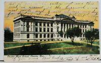 Omaha High School Omaha Nebraska c1907 Postcard L19