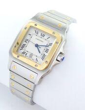 Cartier Santos Galbee Herren Uhr Stahl/Gold 187901