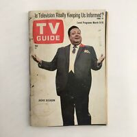 TV Guide Magazine March 9 1968 Jackie Gleason Cover, No Label Rochester NY