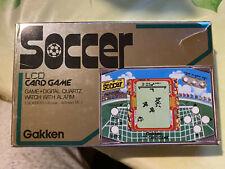 Gakken Soccer LCD CARD GAME