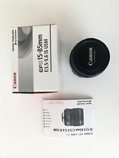 CANNON EFS 15-85 Zoom Lense