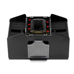 6-Deck Automatic Card Shuffler Battery Operated Casino Poker Playing Machine