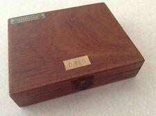 Vintage wood box- Denmark radiometer