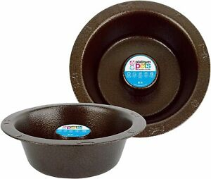 Platinum Pets  Stainless Steel Slow Eating Wide Rimmed Bowl