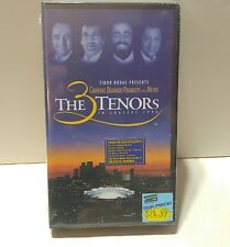 3 Tenors In Concert 1994 Carreras Domingo Pavarotti w/ Mehta VHS Hi-Fi   Sealed