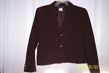 Womens Harve Benard 12 Brown Long Sleeve Jacket