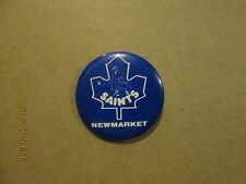 AHL Newmarket Saints Vintage Defunct Logo Hockey Pinback Button