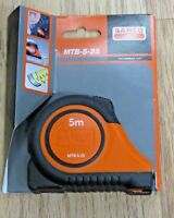 Bahco MTB 5 25 Auto Lock Retracting Tape Measure 5m / 16ft