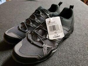 Men's Adidas Terrex AX2R Outdoor Shoes Size 10, Carbon/Grey Four