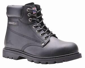 Steelite Black Welted Safety Work Boot SBP FW16