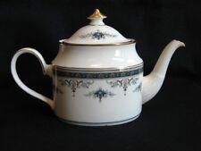Minton Bone China  ' Grasmere - Blue '  Tea Pot