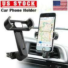 360° Mount Holder Car Air Vent Stand For Mobile Cell Phone GPS iPhone  Samsung US a4fbe9fba85e