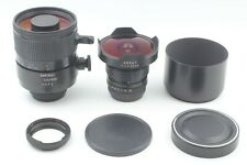 *N mint* Arsat 30mm f/3.5 & Hartblei MC Rubinar 500mm f/5.6  For Pentacon6 M645