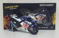 MINICHAMPS VALENTINO ROSSI 1/12 YAMAHA YZR-M1 MOTOGP 2010 LIMITED EDITION RARE