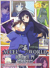 ACCEL WORLD The Complete Anime TV Series Ep.1 - 24 End DVD Box Set