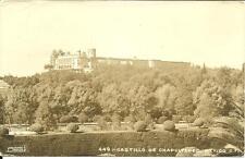 RPPC Chapultepec Castle Aztec Mexico City Bird's Eye View 1949