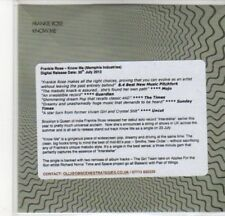 (DD860) Frankie Rose, Know Me - 2012 DJ CD