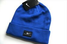 d4eb057e161 New NIKE GOLF Royal Blue Cuff BEANIE HAT Watch Cap Toque UNISEX OSFM AA16