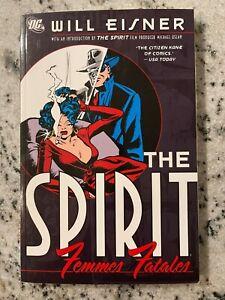 The Spirit Femmes Fatales DC Comics TPB Graphic Novel Will Eisner Book J595