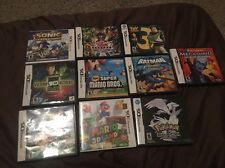 Nintendo DS  EMPTY CASES   (NO GAME INCLUDED)  (Lot of 10) Mario Land Pokemon