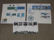 Guernsey Fdc`s-Europa, Yacht Club, Power Boat Championships, Liberation