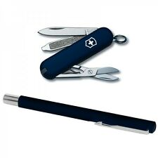 Victorinox Swiss Army Vector PEN Blue CLASSIC Gift Box 64103 NEW