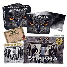 SHAKRA - HIGH NOON (LIM.BOXSET)  CD flag photo card coa