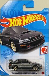 Hot Wheels '98 Subaru Impreza 22B-STi Version Griphite 2021 New M Box (SALE)