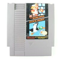 Super Mario Bros Duck Hunt NES Nintendo Entertainment System Cart Tested