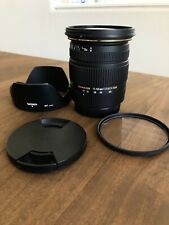 Sigma 17-50mm f/2.8 canon EX DC OS HSM For Canon