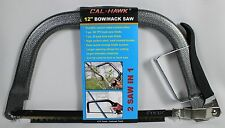 "BOW HACK SAW 12"" Hand Garden Handy Tool NEW Steel 2-in-1 Combo Crosscut Blade"