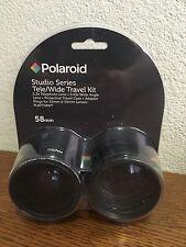 Polaroid Studio Series Tele/Wide Travel Kit 2.2x Telephoto Lens .43x Wide Angle
