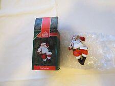 Hallmark Keepsake Please Pause Here Santa COKE clip on Christmas Ornament RARE